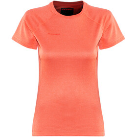 Mammut Trovat Pro Shortsleeve Shirt Women orange